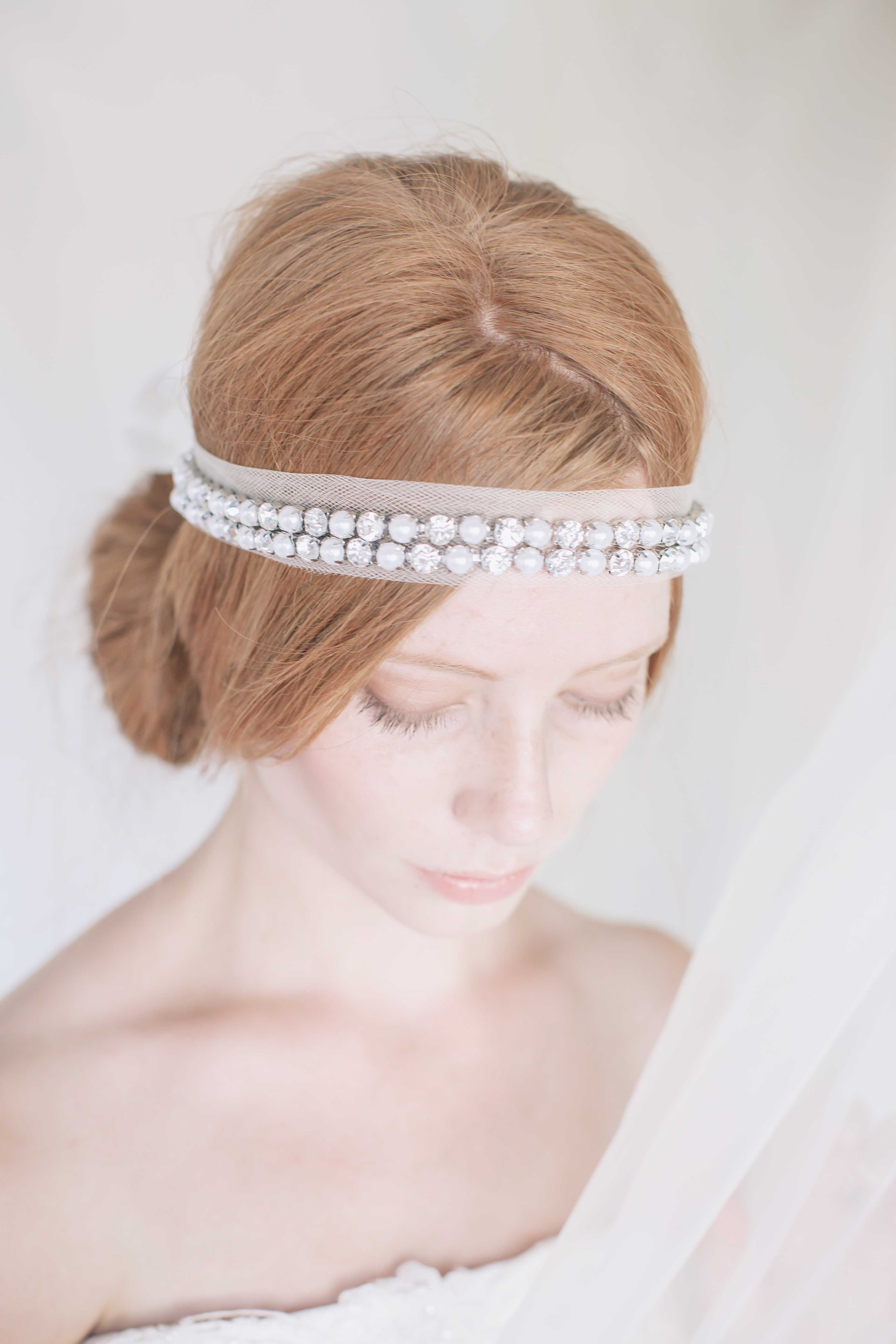 Ruth bridal Headpiece
