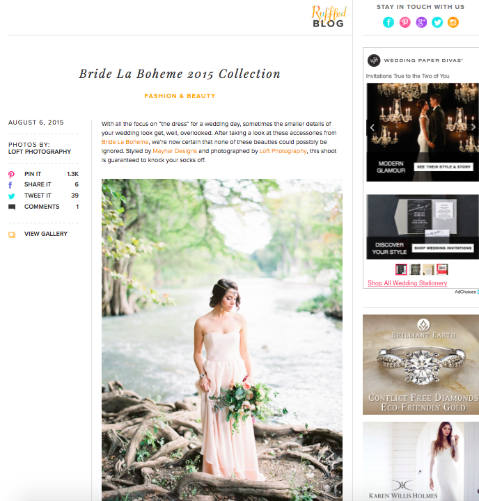 Wedding Blog Press 2015