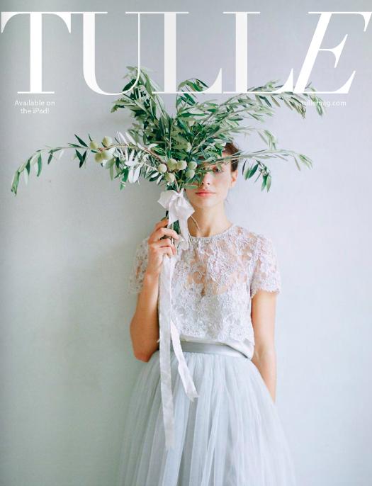 Wedding Publication Featuring Bride La Boheme Bridal Accessories