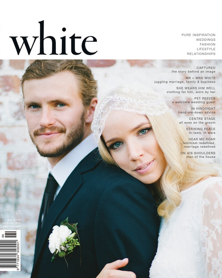 White Magazine Wedding Press 2013
