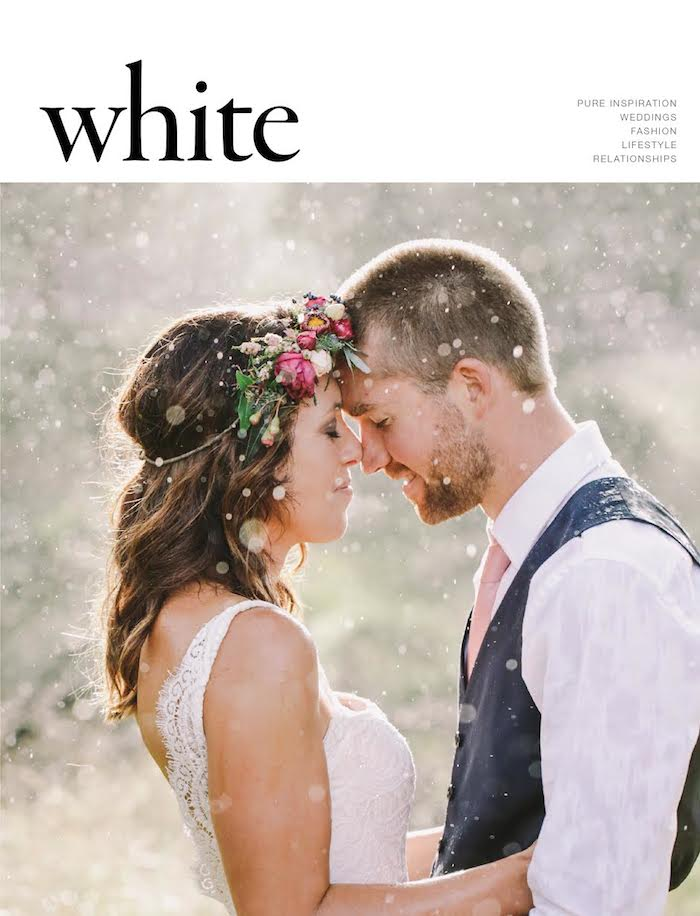 White Magazine Wedding Press 2015