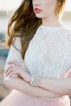 Crystal Wedding Accessories Vintage Inspired by Bride La Boheme