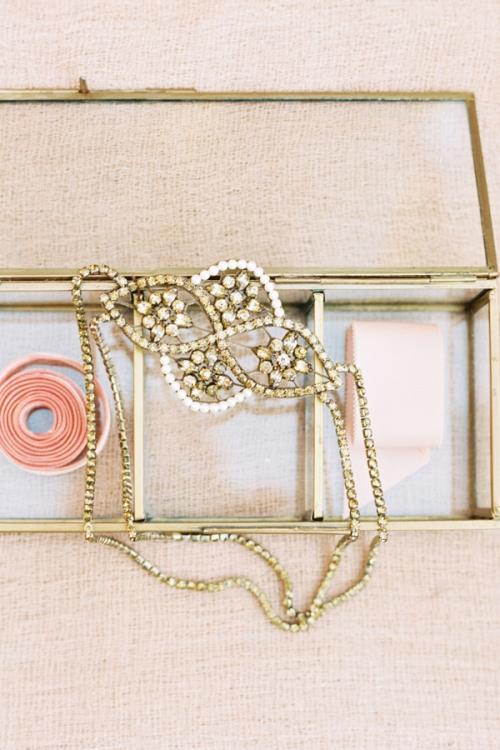 Handcrafted Wedding Bronze Hair Accessories by Bride La Boheme