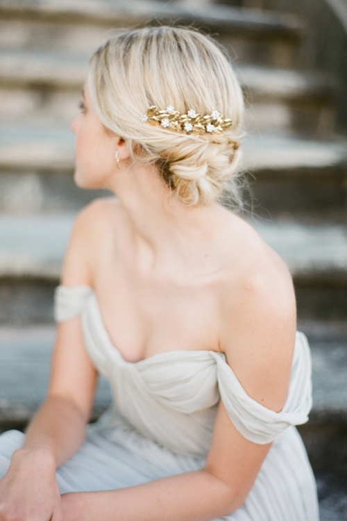 Delicately Handcrafted Vintage Hair Comb by Bride La Boheme