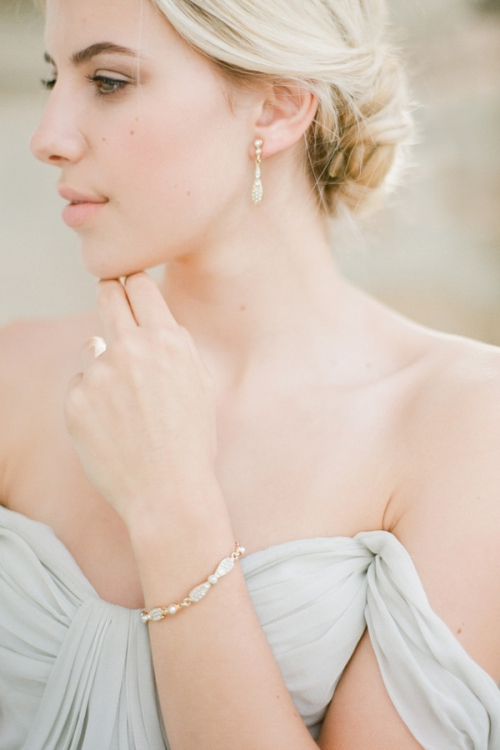 Gold Vintage Inspired Wedding Jewellery by Bride La Boheme