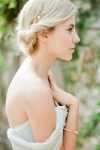 Gold Vintage Inspired Delicate Hair Comb by Bride La Boheme