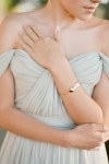 Handcrafted Floral Gold Jewellery by Australian Bride La Boheme