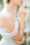 Vintage Inspired Gold Bridal Bracelet by Bride La Boheme