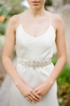 Crystal Wedding Belt by Bride La Boheme
