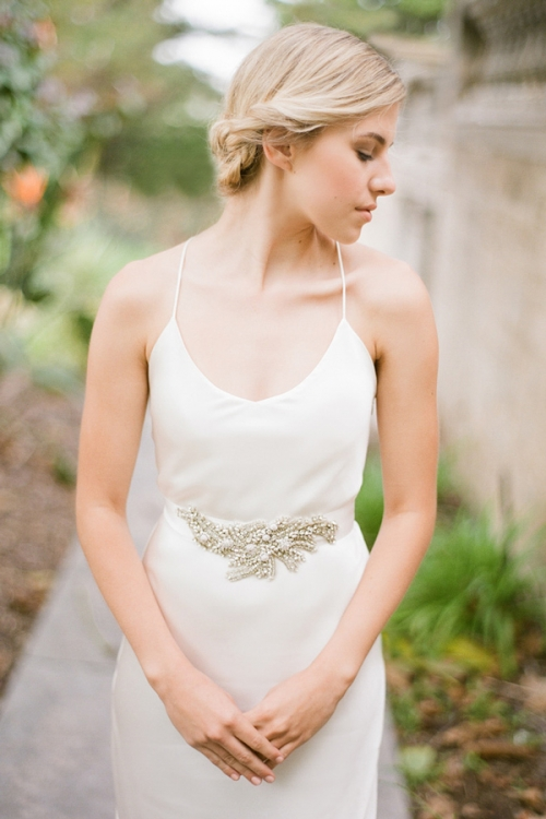 Handcrafted Wedding Sash by Bride La Boheme