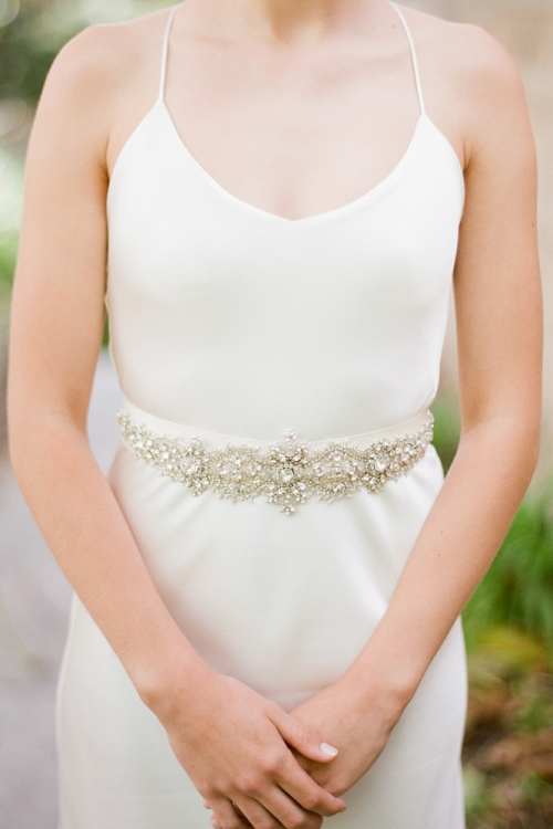 Crystal Wedding Belt by Bride La Boheme