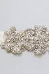 Crystal Bridal Sash -Style AO1 Handcrafted by Bride La Boheme