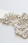 Crystal Bridal Sash -Style AO2 Handcrafted by Bride La Boheme