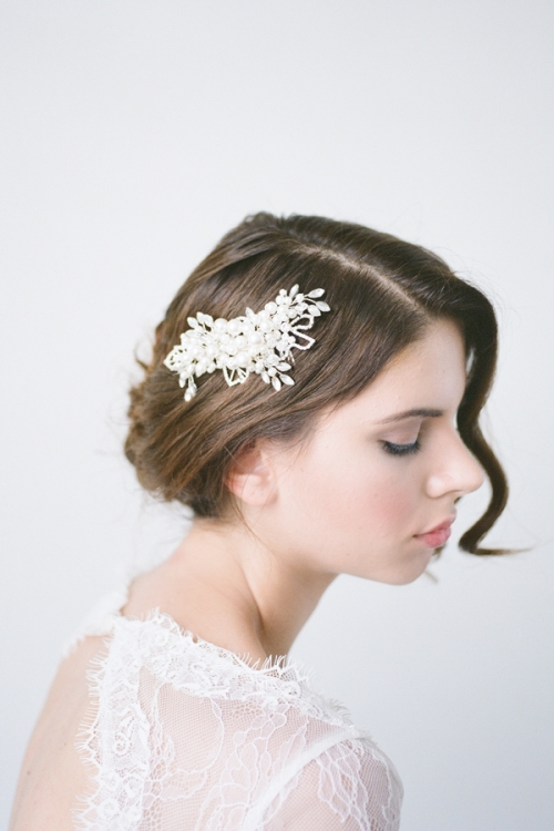 Headpiece by an Australian Bride La Boheme