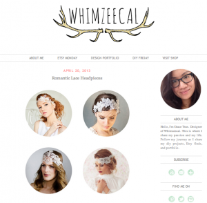 Bride La Boheme Press - Whimzeecal