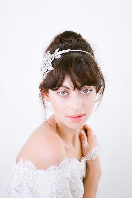 Anita Wedding Headband -Vintage Inspired Wedding Accessories by Bride La Boheme