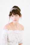 Anatolia Bridal Headband by Bride La Boheme