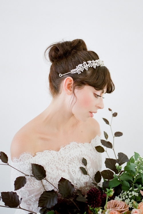 Melanie Wedding Headband - Vintage Inspired headpieces by Bride La Boheme