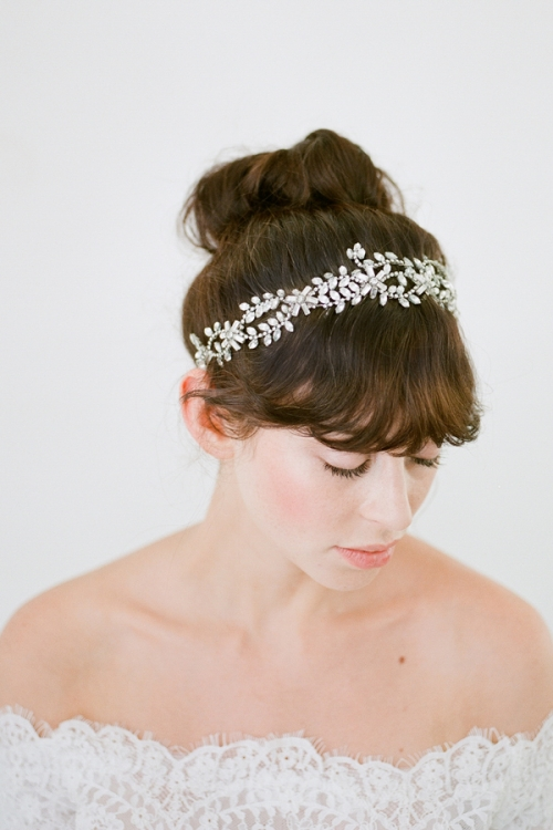 Callista Bridal Headpiece -Vintage Inspired Headpiece by Australian Bride La Boheme