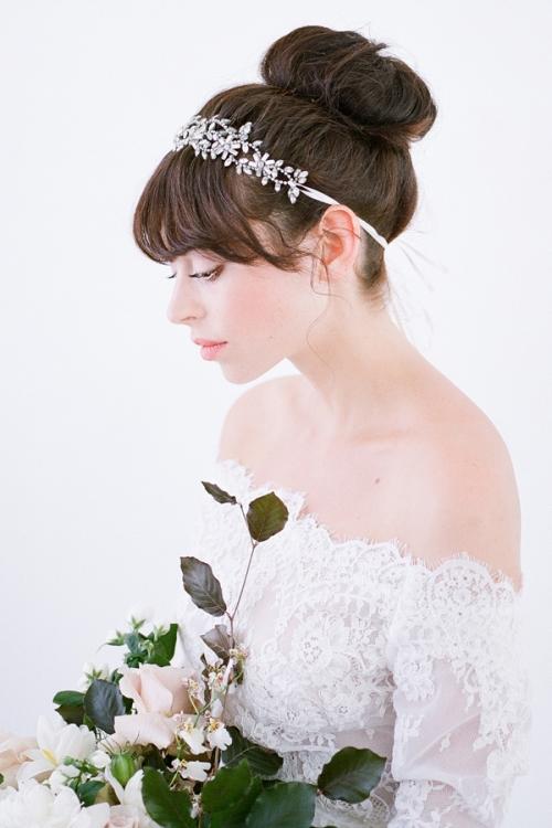Callista Bridal Headpiece -Vintage Inspired Headpiece by Australian Bride La Boheme