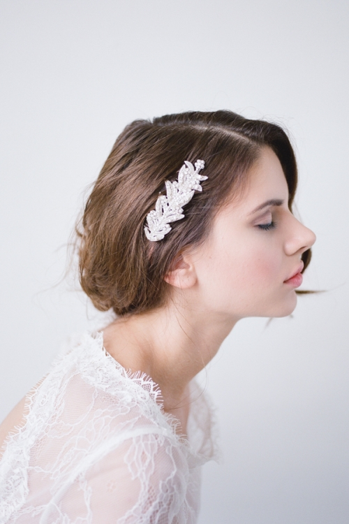 Wedding Hair Comb by Bride La Boheme