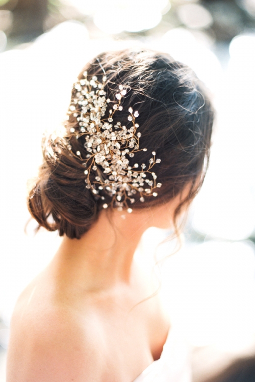 Gold Hair Accessories by Bride La Boheme