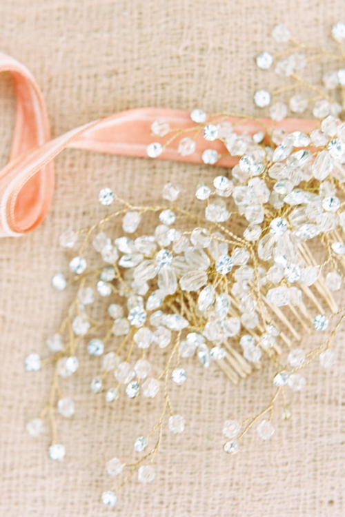 Gold Hair Accessories by Bride La Boheme