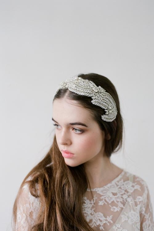 Wedding Headpiece by Bride La Boheme
