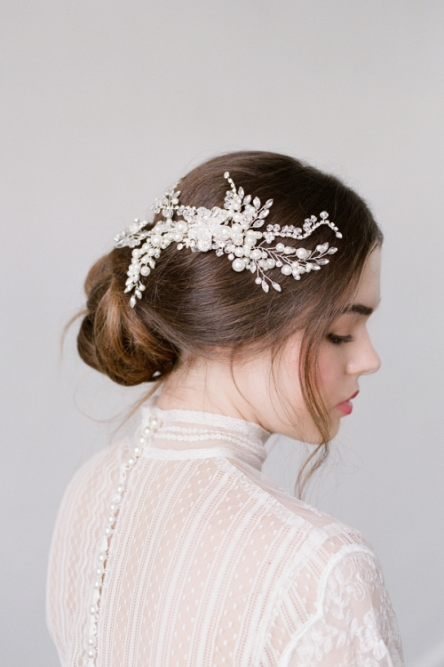 Romantic Wedding hair Accessories by Bride La Boheme