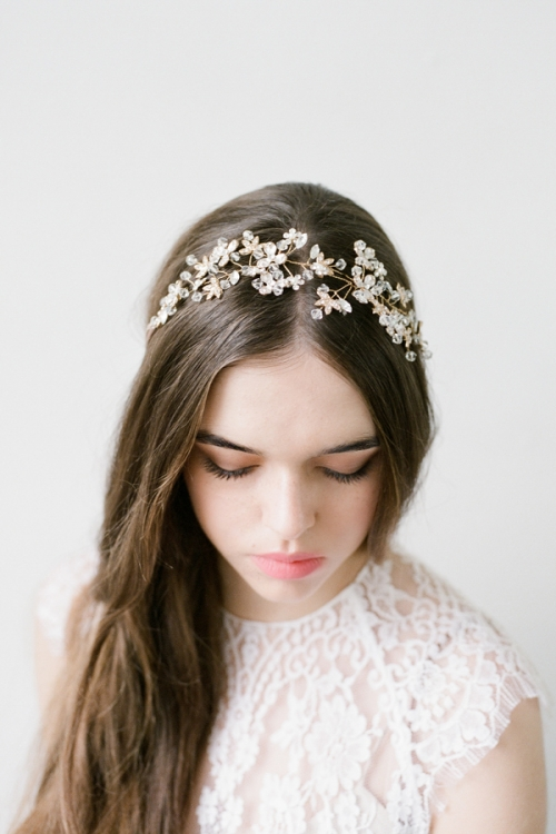 Crystal Headpiece by Bride La Boheme