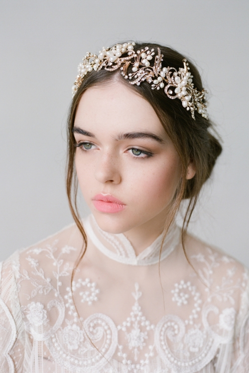 Floral Hair Accessories by Bride La Boheme