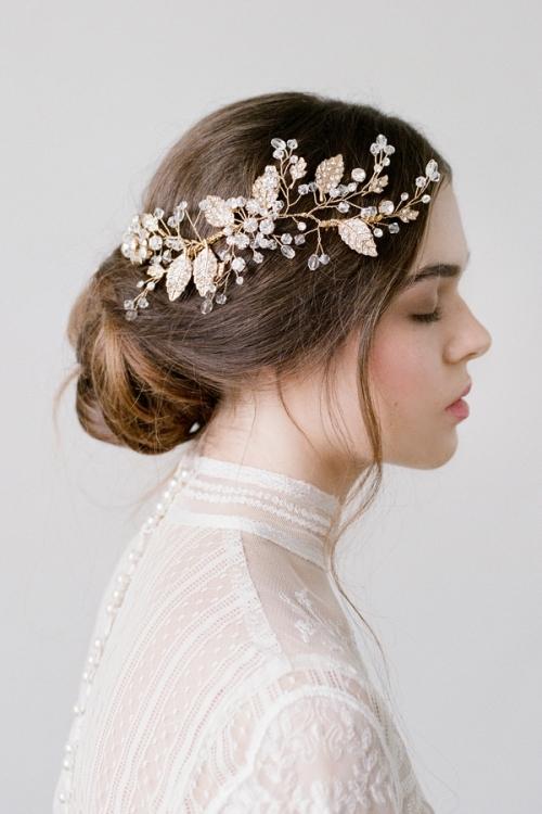 Floral Hair Accessories by Bride La Boheme