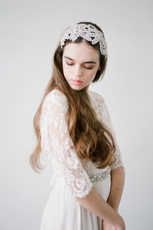 Crystal Hair Piece by Bride La Boheme