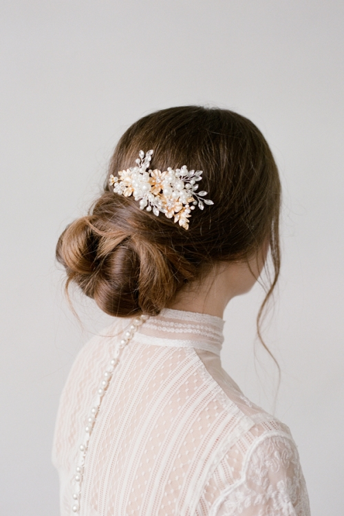 Bridal Head Comb by Bride La Boheme