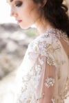 Gold and Silver Bridal Cover up by Bride La Boheme