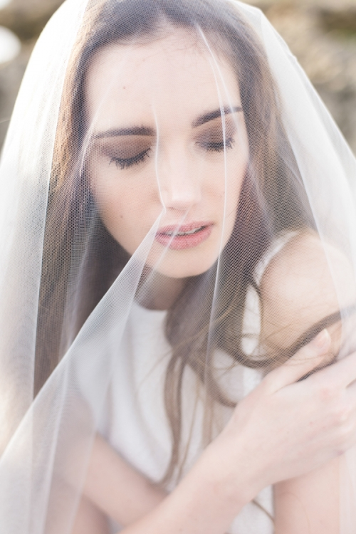 Elbow Length Bridal Veil by Bride La Boheme