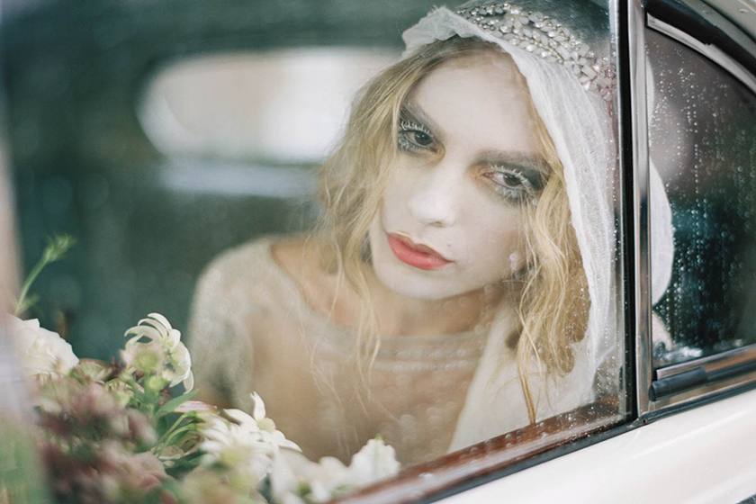 Haunted Bride- Australian Bridal Styled Shoot featuring by Bride La Boheme