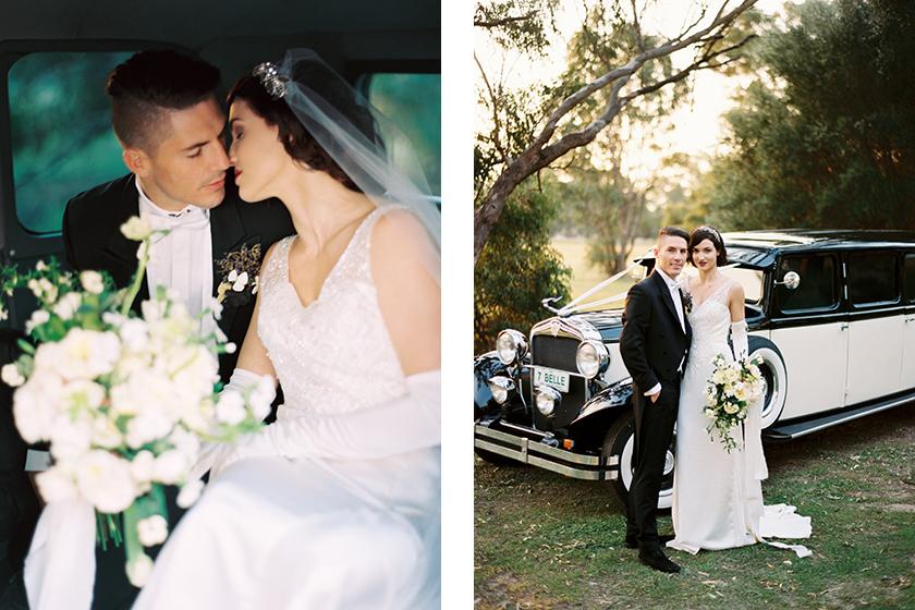 Downton Abbey - Bridal Styled Photo Shoot featuring Australian Bride La Boheme wedding adornments