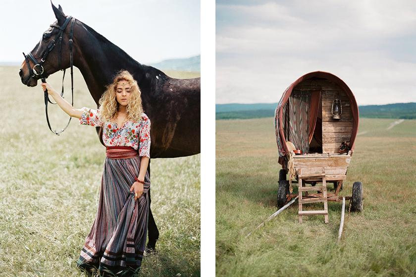 Gypsy Art Part 1 - Bridal Styled Photo Shoot featuring Australian Bride La Boheme wedding adornments