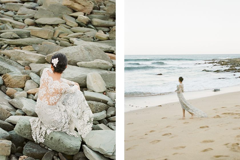 Exotic Bride - Bridal Styled Photo Shoot featuring Australian Bride La Boheme wedding adornments
