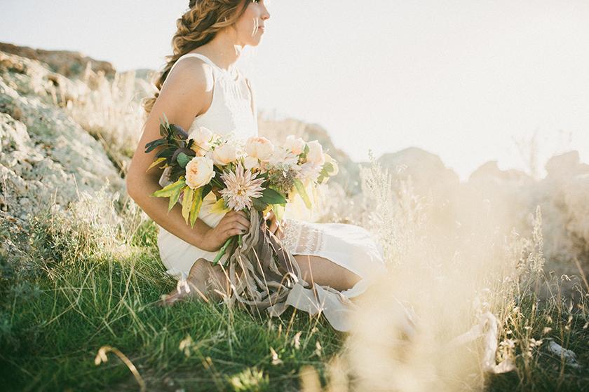October Love - Bridal Styled Photo Shoot featuring Australian Bride La Boheme wedding adornments