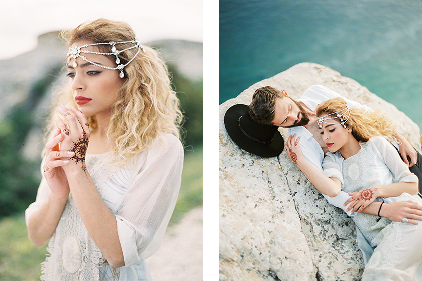Gypsy Art Part 2 - Bridal Styled Photo Shoot featuring Australian Bride La Boheme wedding adornments