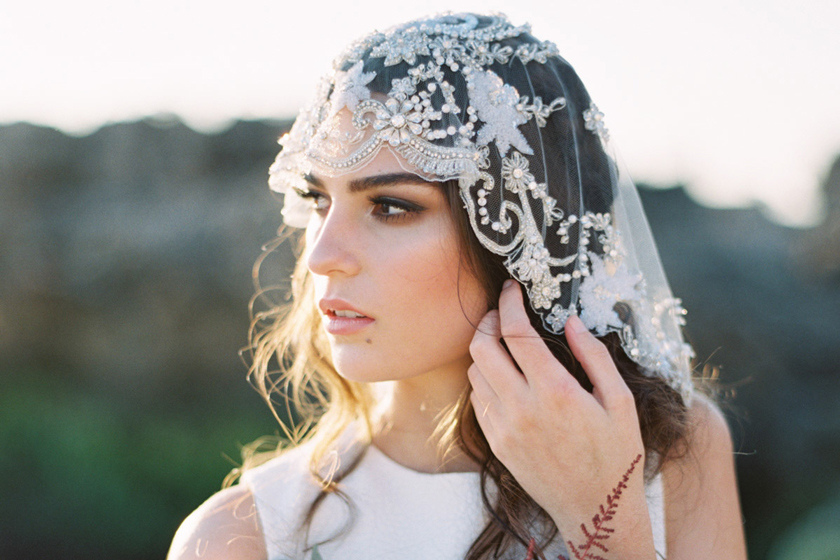Scarlet Boheme - Bridal Styled Photo Shoot featuring Australian Bride La Boheme wedding adornments