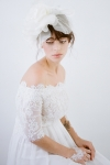 Grand Rose Floral Bridal Hair Clip
