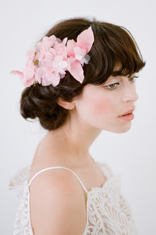 Nymph Floral Hair Piece by Bride La Boheme