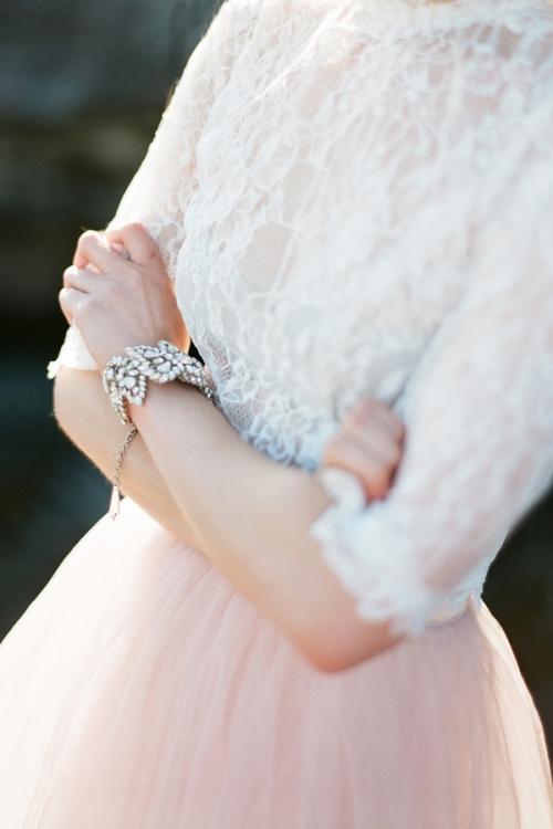 Crystal Wedding Accessories Vintage Inspired by Bride La Boheme