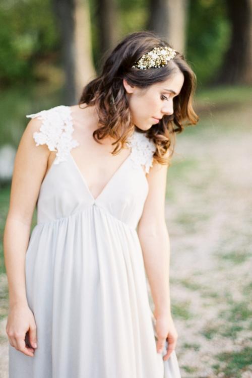 Bronze Wedding Adornments by Australian Bride La Boheme
