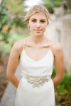 Handcrafted Wedding Sash by Bride La Boheme
