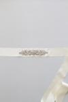 Crystal Bridal Sash -Style NB2 Handcrafted by Bride La Boheme