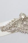 Crystal Bridal Sash -Style AO4 Handcrafted by Bride La Boheme